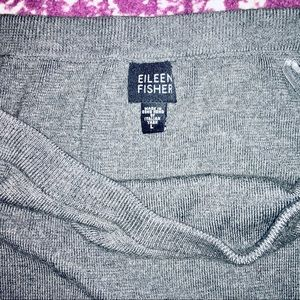 EILEEN FISHER | 100% Italian Merino Wool Skirt